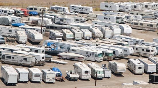 How Much Does It Cost To Store An RV?